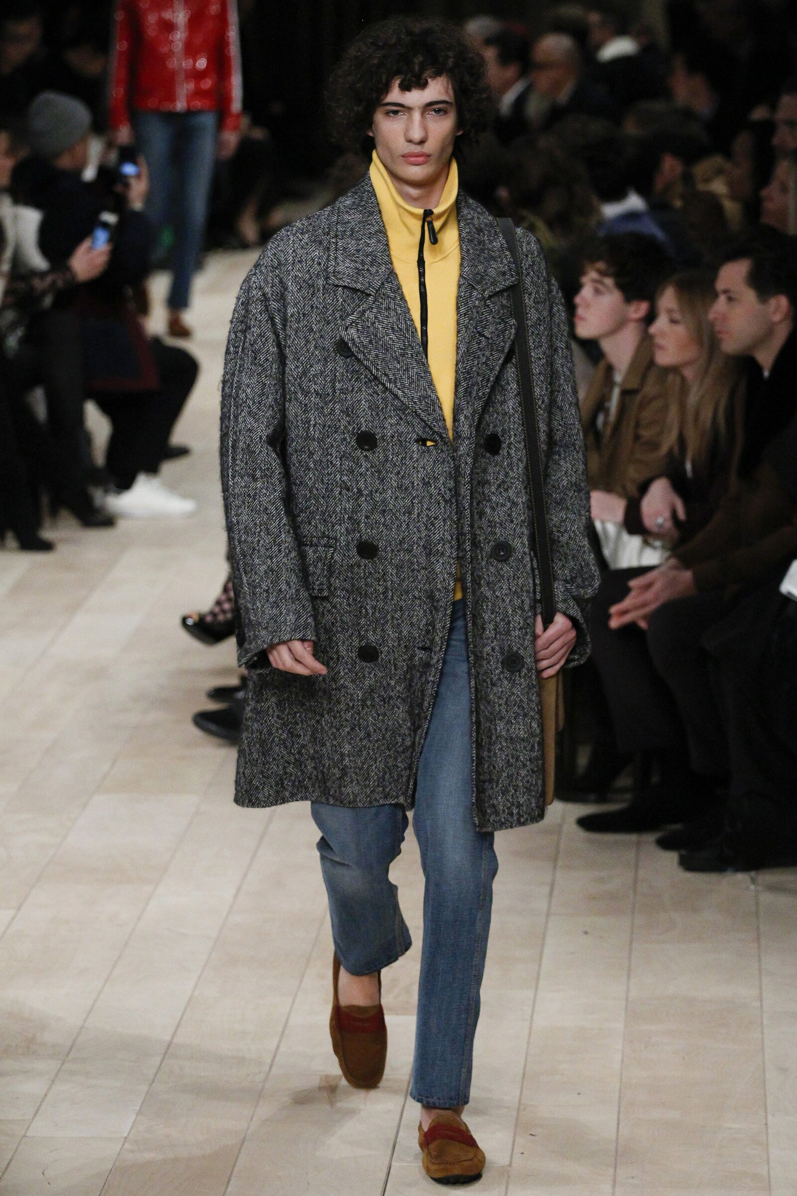 Burberry - London Collections: Men AW 2016